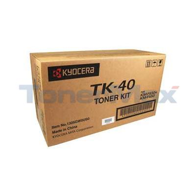 KYOCERA MITA KM-F650 TONER BLACK